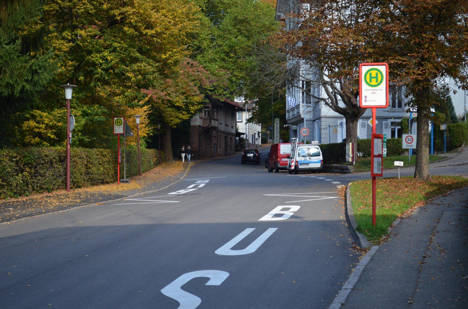 Haltestelle Alte Dobler Straße