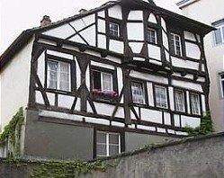 Die alte Domprobstei ist das älteste Fachwerkhaus in Radolfzell