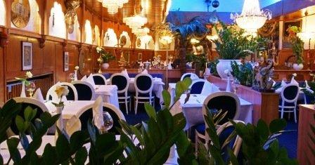 Punjab Indisches Restaurant Innenansicht