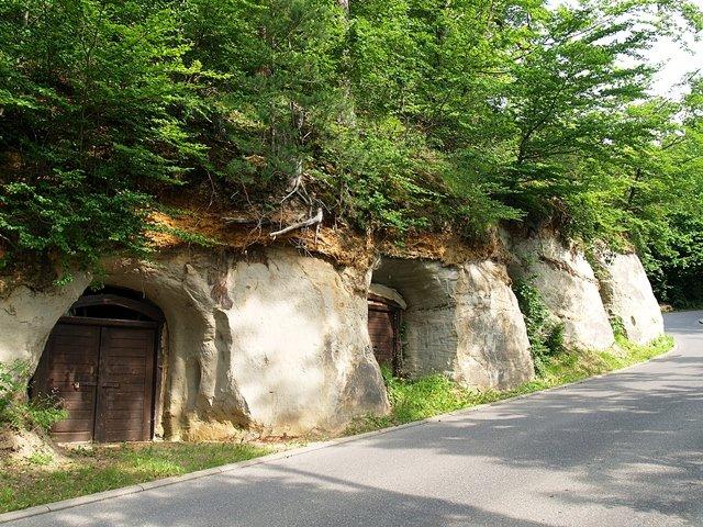 Historische Felsenkeller in Unteruhldingen