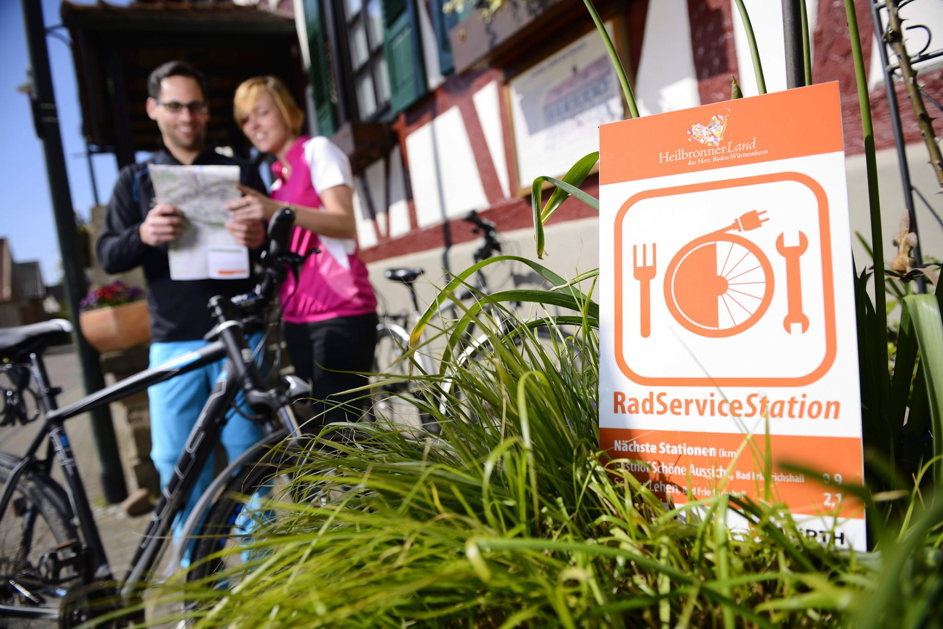 Marijas Schlosspark Café | RadServiceStation HeilbronnerLand