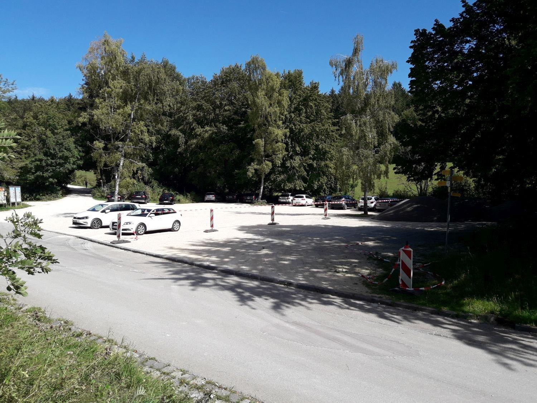 Parkplatz Kälberwiese - Startpunkt Traufgang Ochsenbergtour