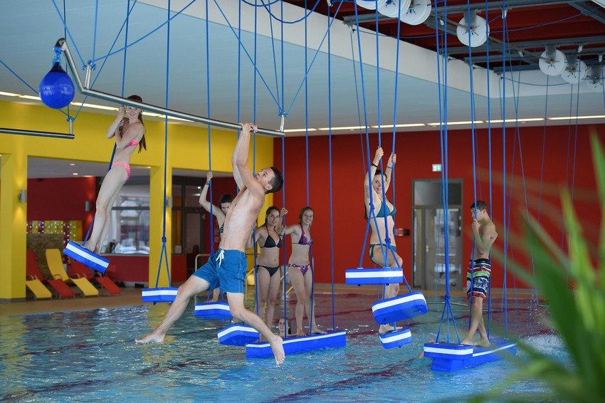 Kinderbereich im Hallenbad Badschnass