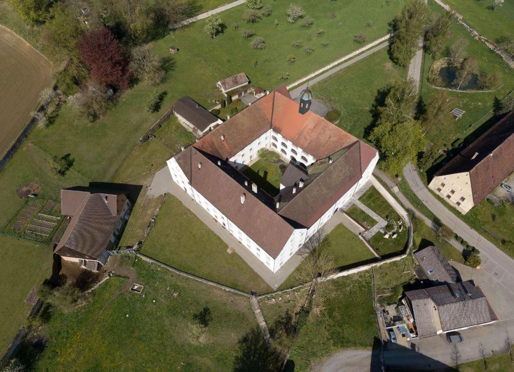 Luftaufnahme vom Kloster Habsthal von Achim Mende