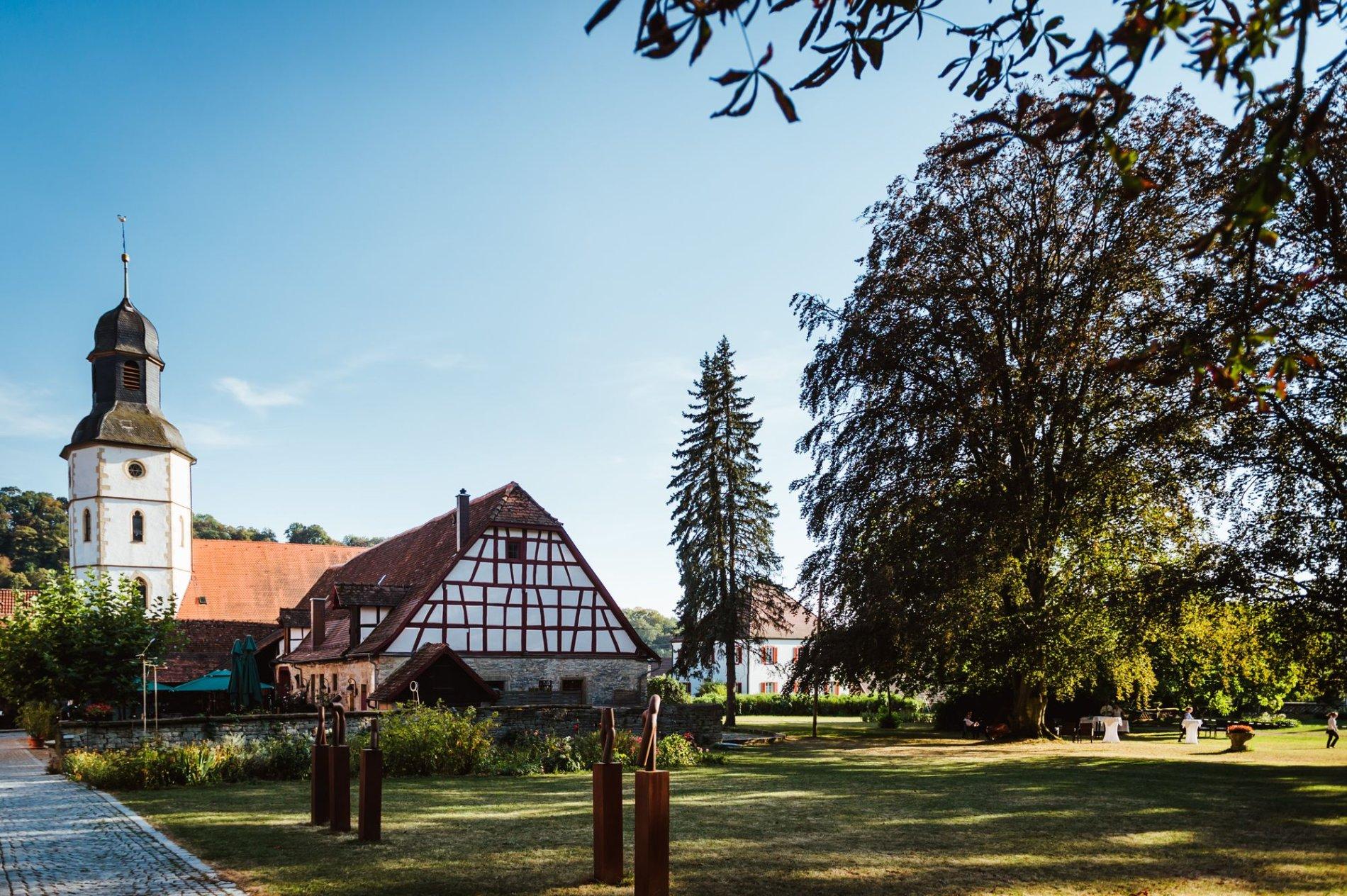Park am Roten Schloss Jagsthausen   HeilbronnerLand