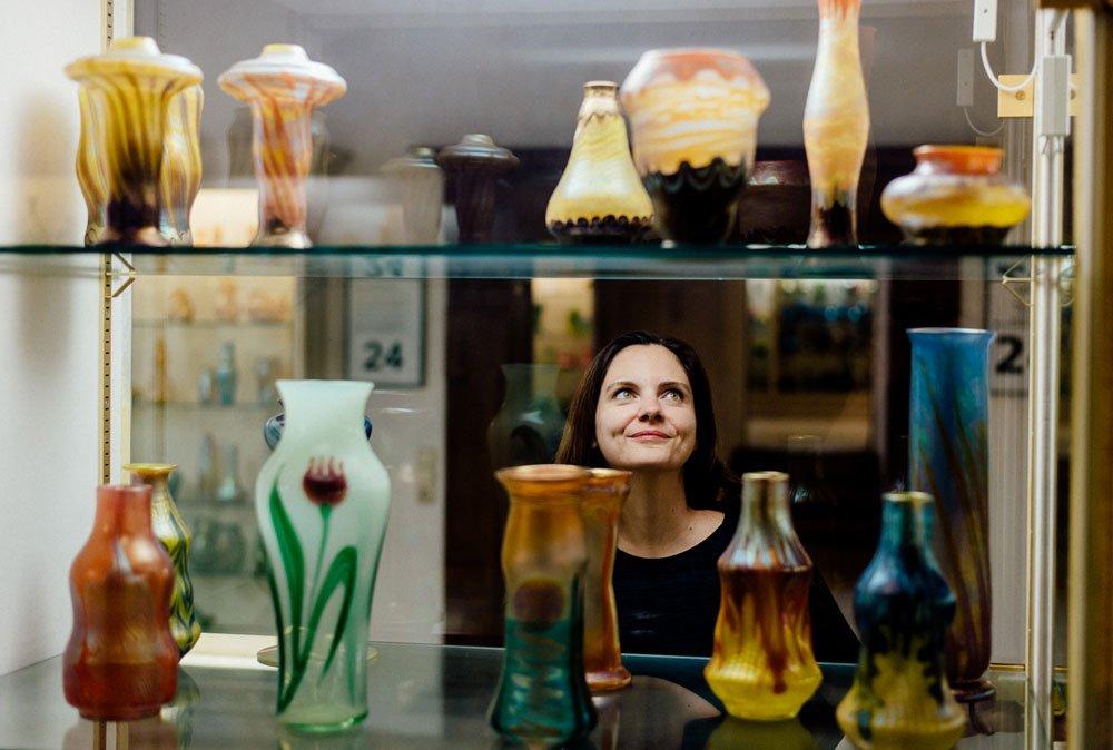 Über 30.000 Gläser beherbergt das Glasmuseum Passau.