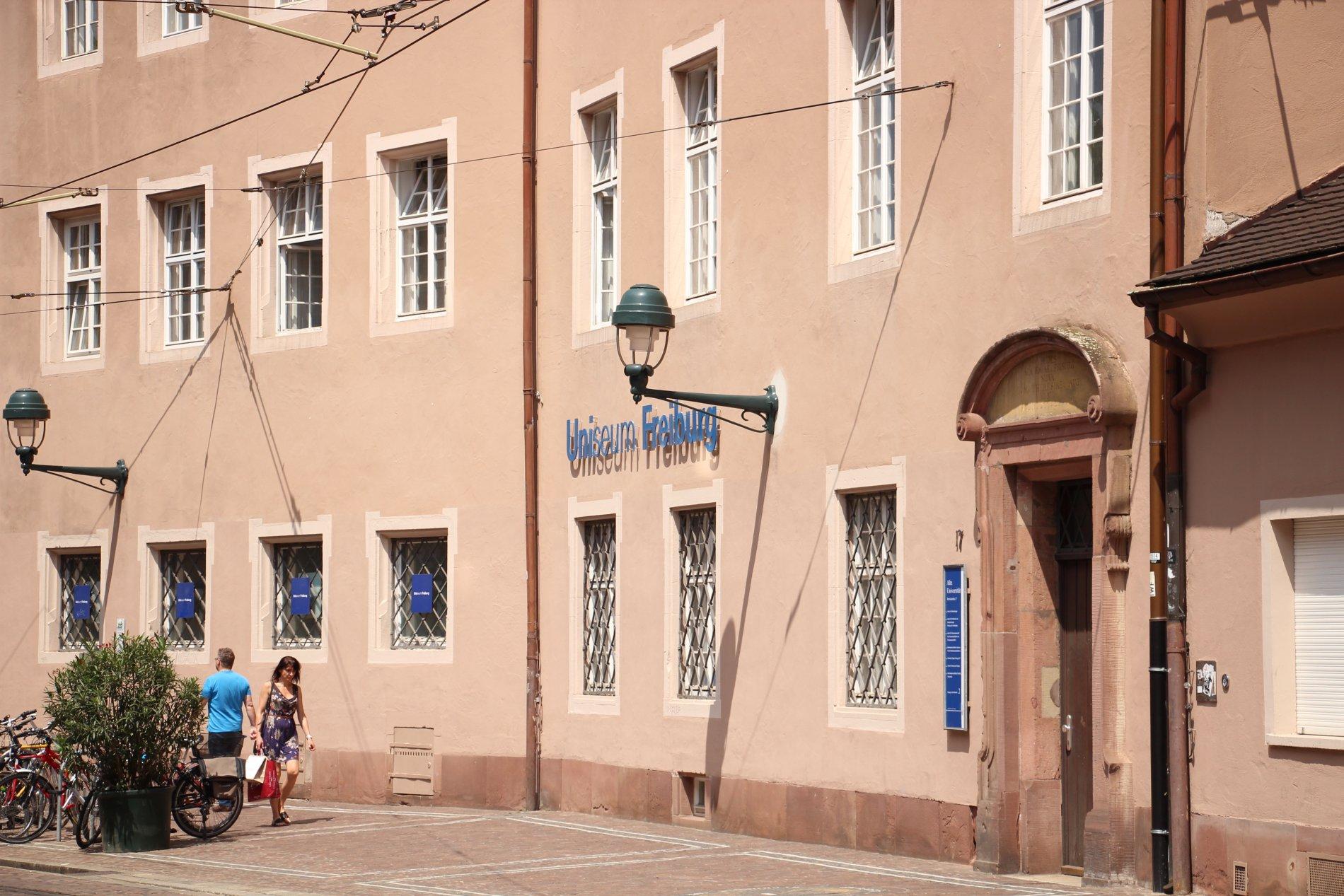 Alte Universität mit Uniseum Freiburg
