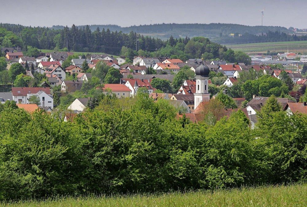 Panorama von Au i. d. Hallertau