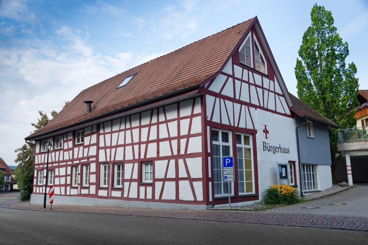 Aussenansicht Bürgerhaus Gaienhofen