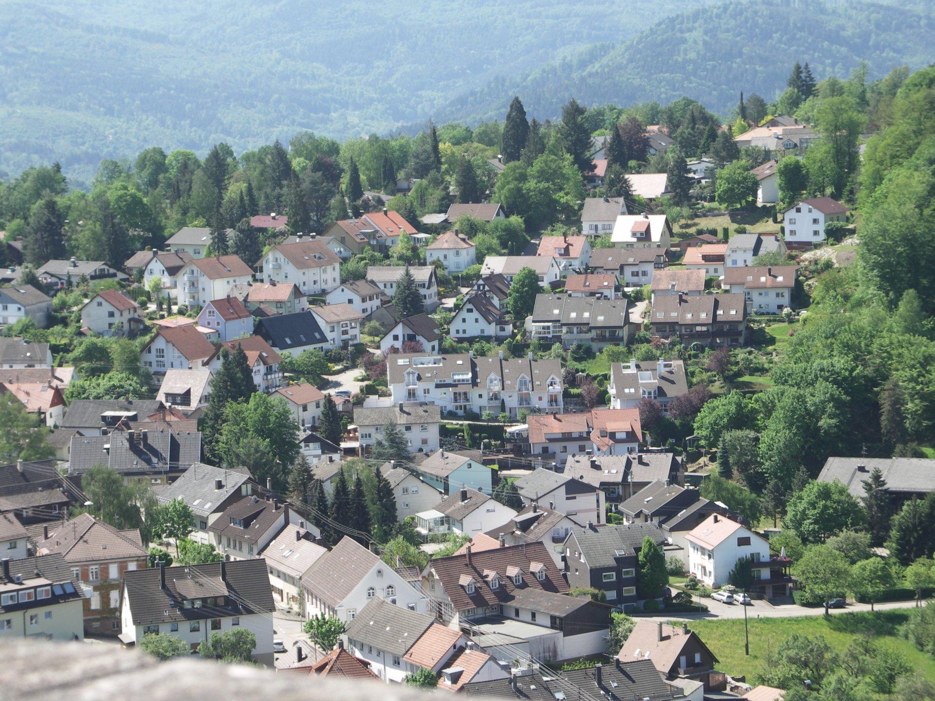 Blick auf Ebersteinburg