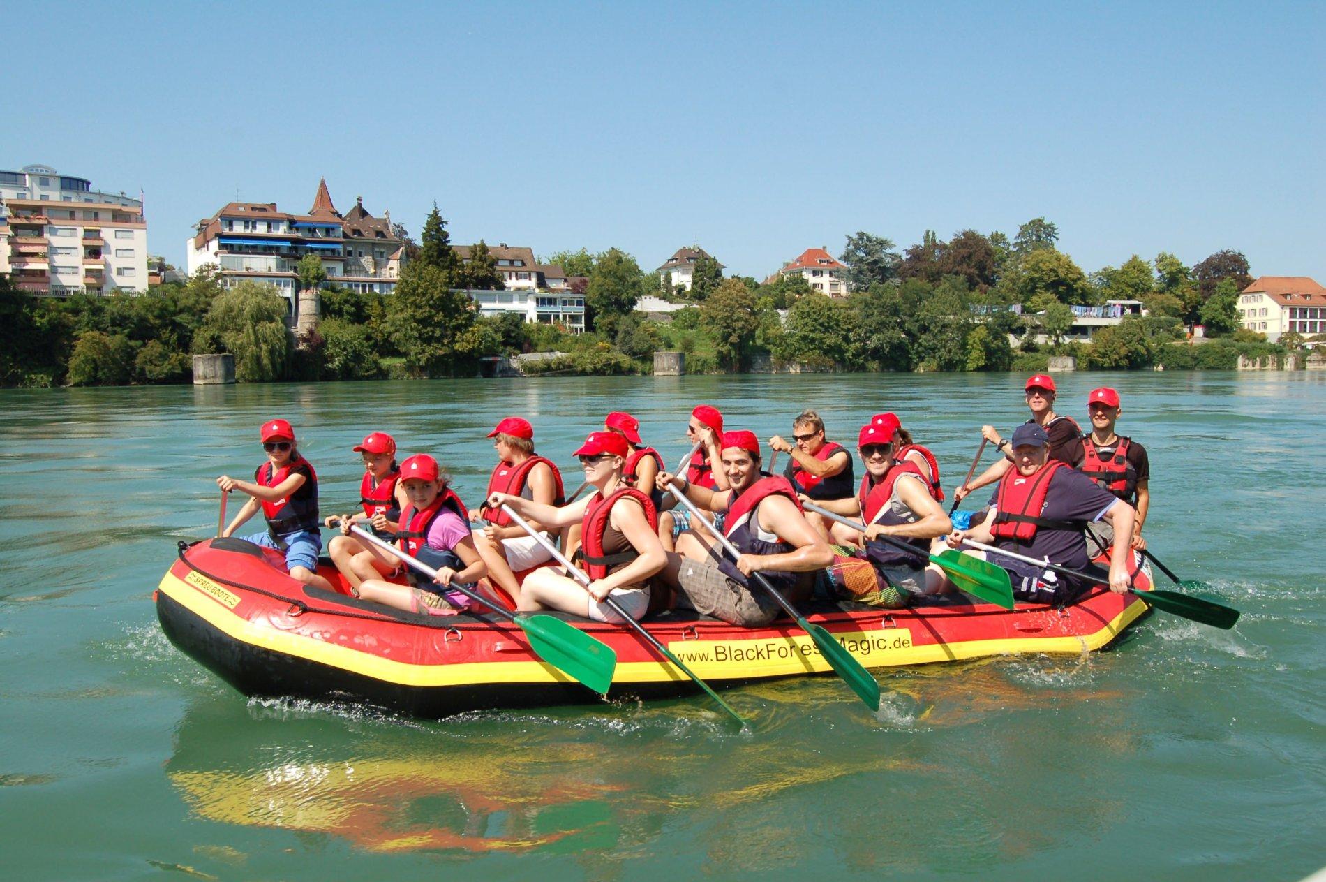 Rafting Nahaufnahme