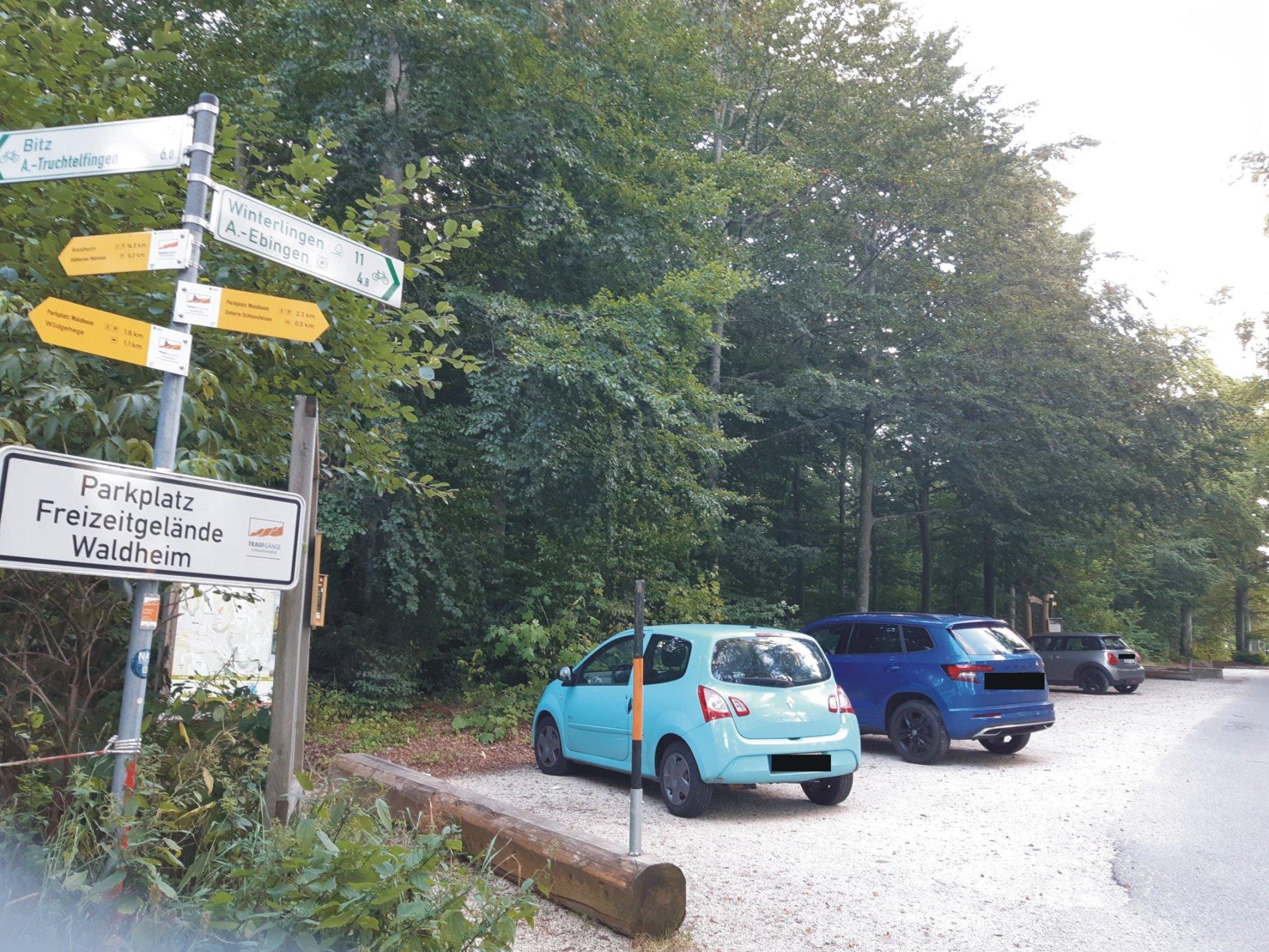 Parkplatz Freizeitgelände Waldheim Albstadt-Ebingen