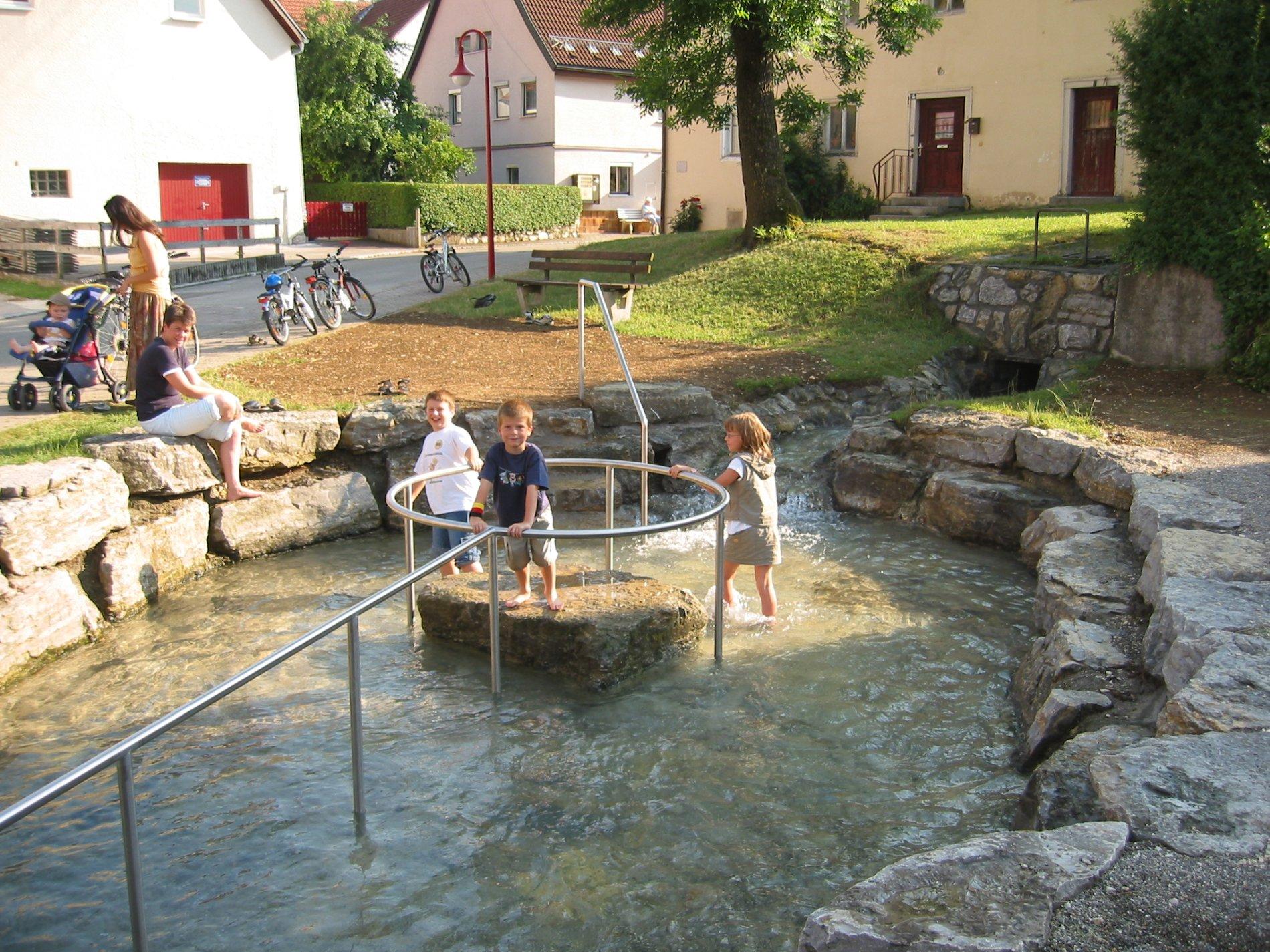 Wassertretanlage Kaplaneibrunnen