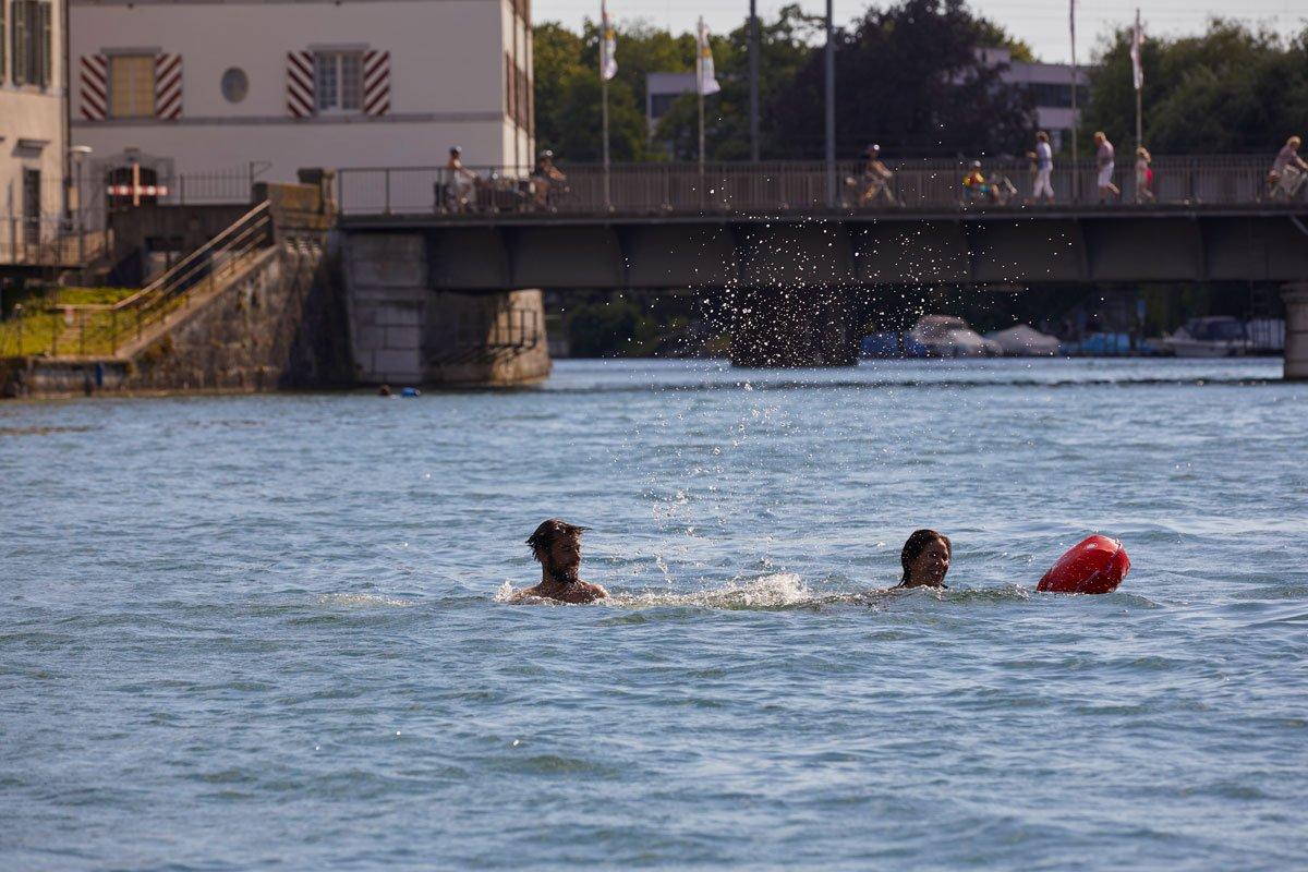 Aare Schwimmen Solothurn