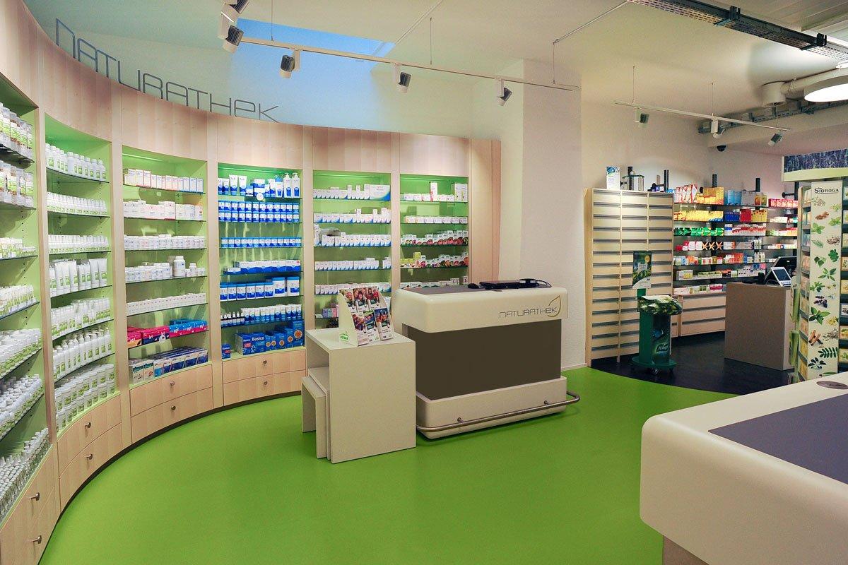 Pharmacy Nagel Naturathek Interior