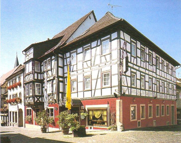 Außenansicht | Hotel Garni zum Lamm | Gundelsheim | HeilbronnerLand