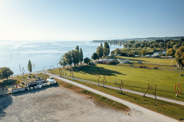 Kunst direkt am Bodensee