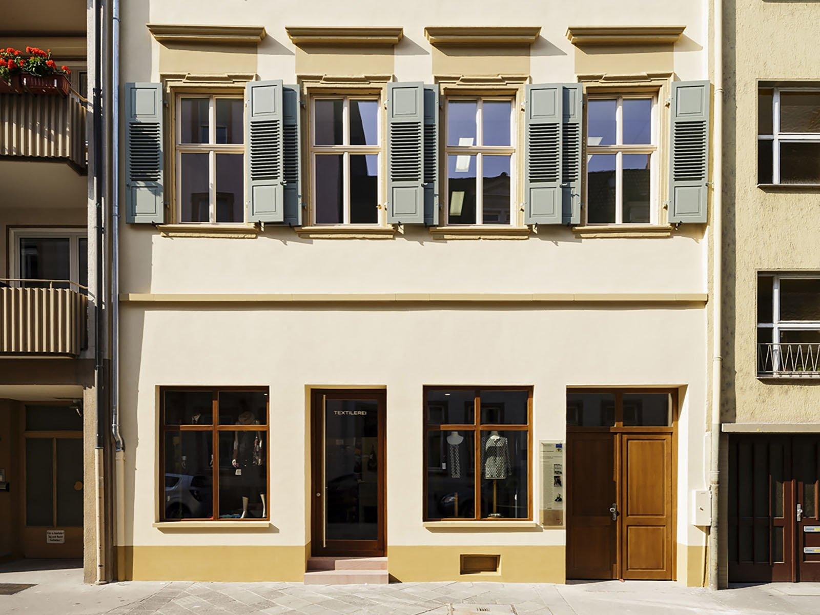 Mannheim, Textilerei, Eingangsbereich