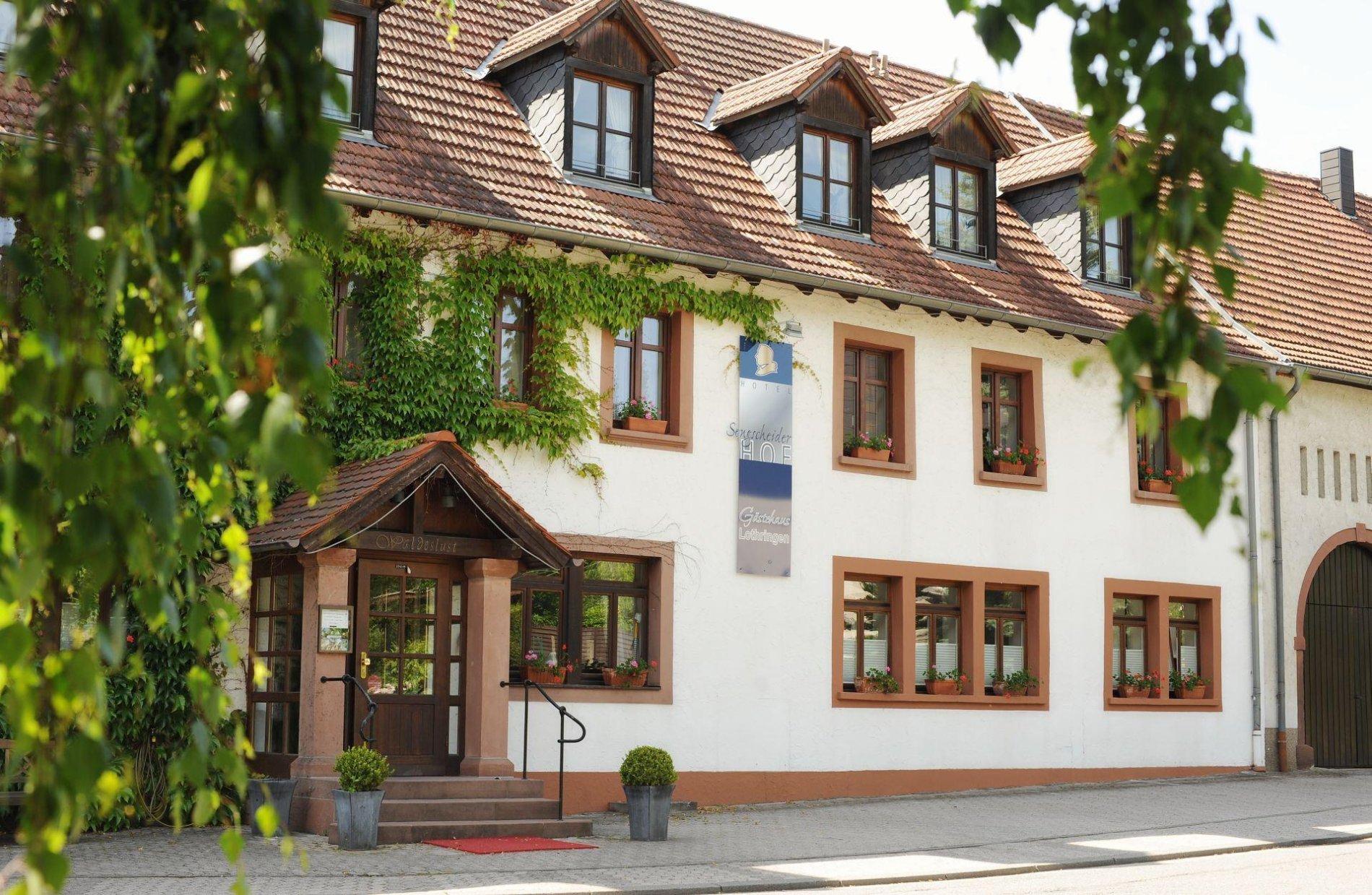 Außenansicht Hotel Sengscheider Hof