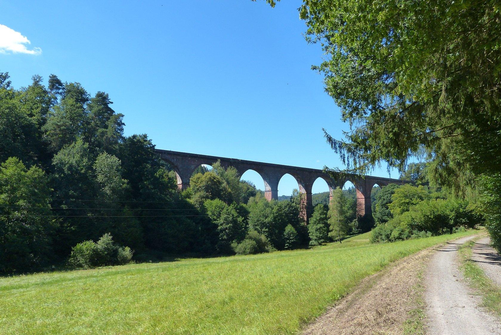 Oberzent Himbächel Viadukt