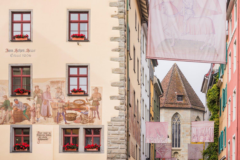 Kunst und Historie in einem: Konstanzer Wandmalereien