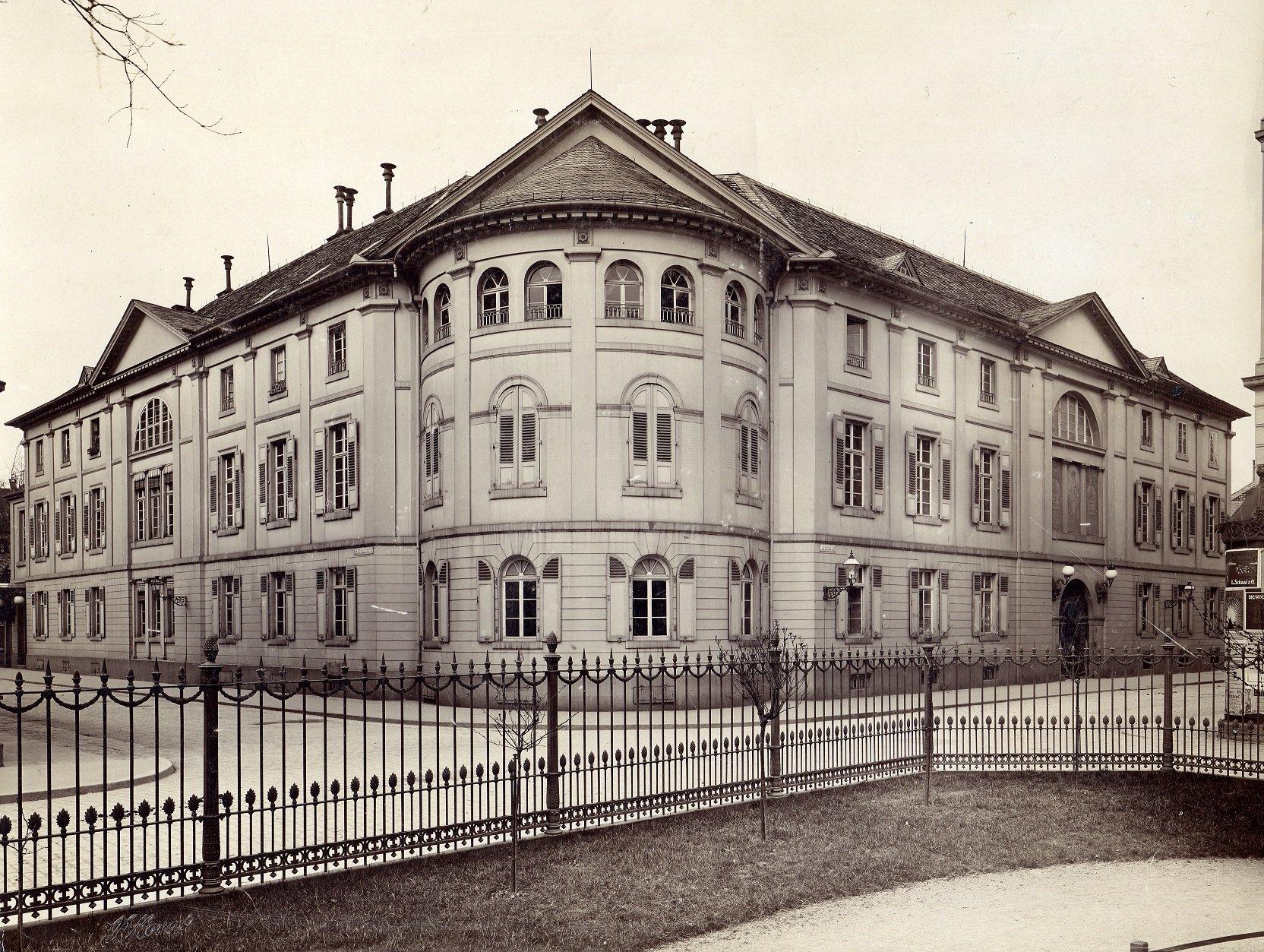 Foto aus dem Jahr 1902