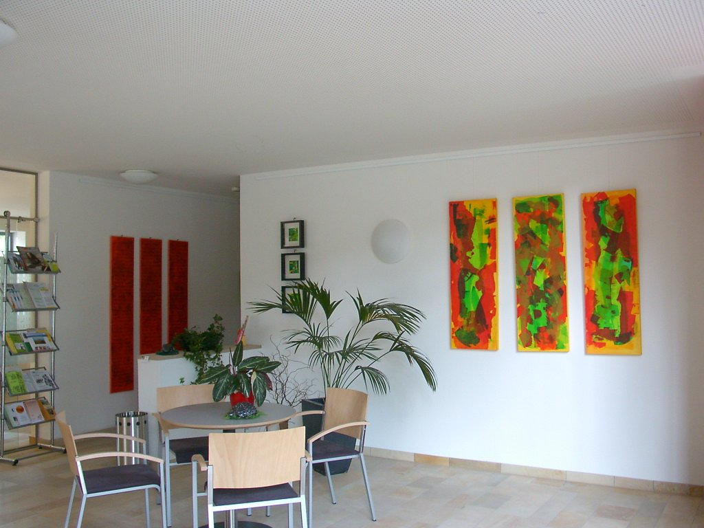 Gemälde in der Rathaus-Galerie Bitz