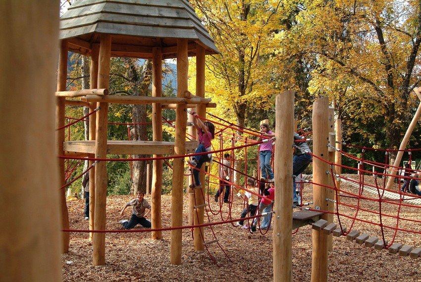 Spielplatz im Park der Zeiten