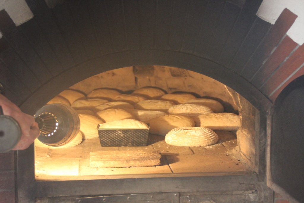 Brot im Backofen