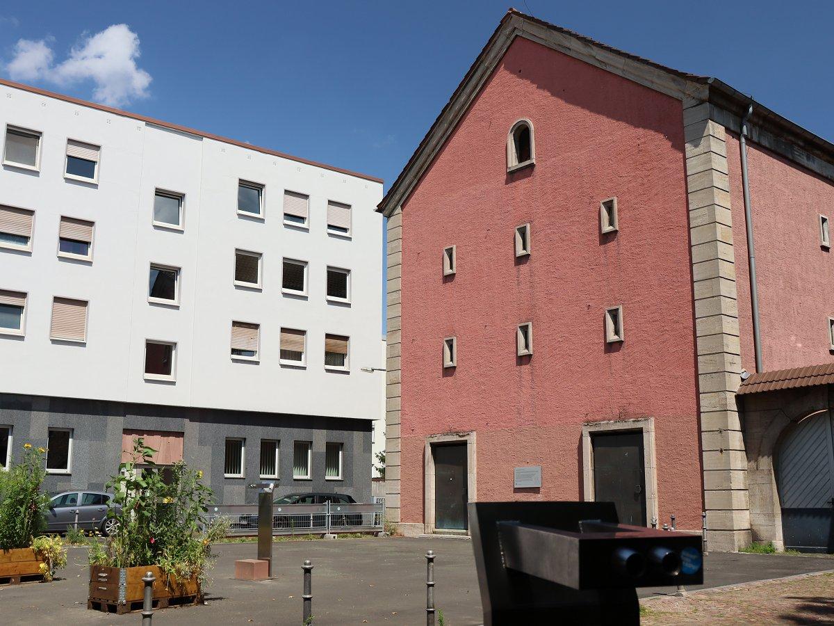 Ettinghausenplatz am Markt im Stadtteil Höchst