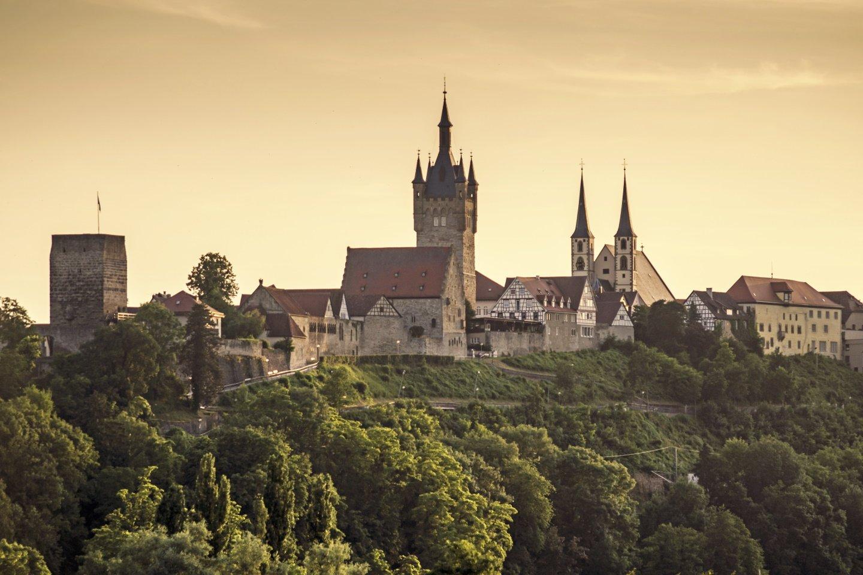 Blick auf die Stadt Bad Wimpfen