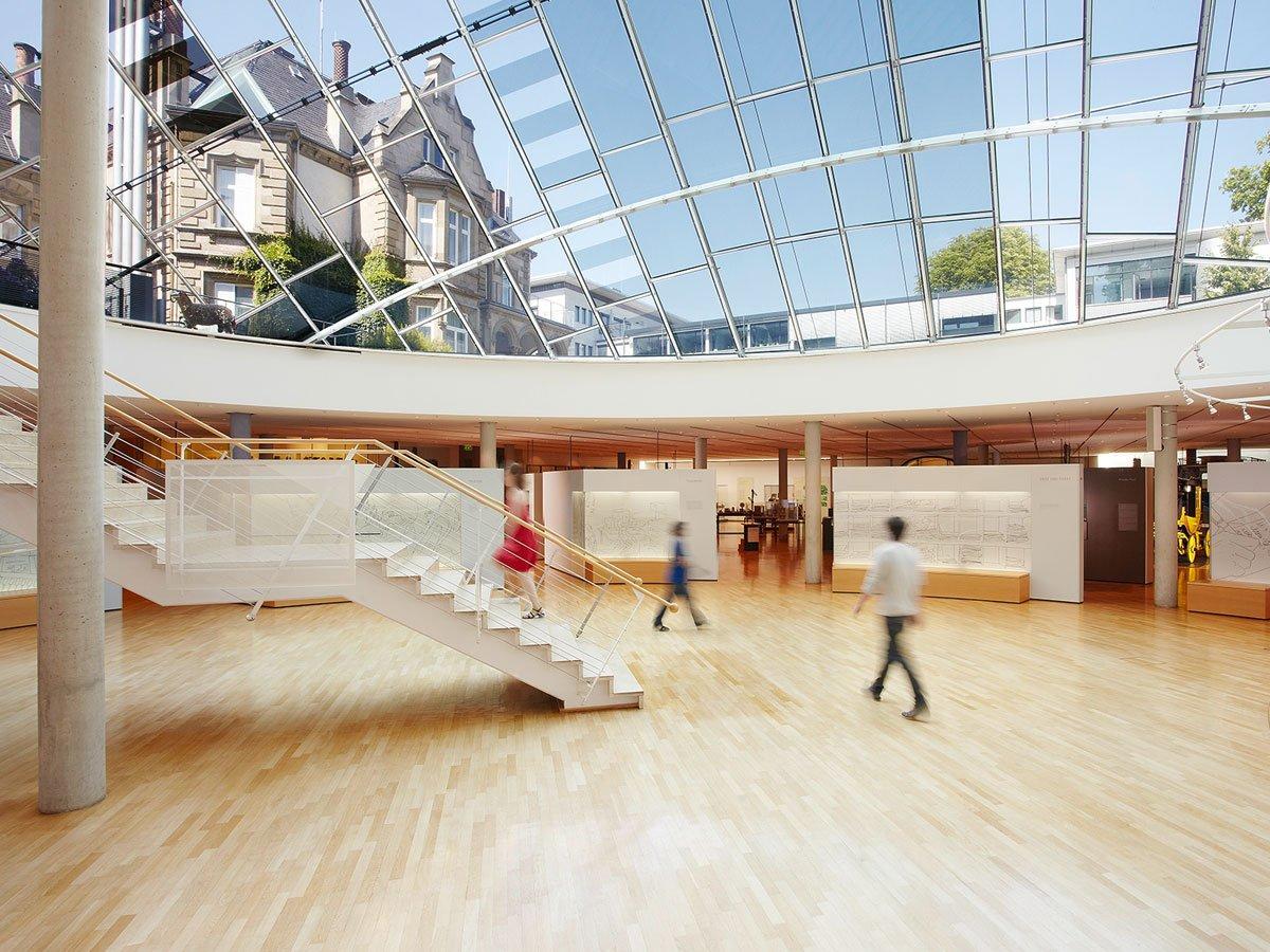 Museum für Kommunikation (Museum of Communication) - inside view