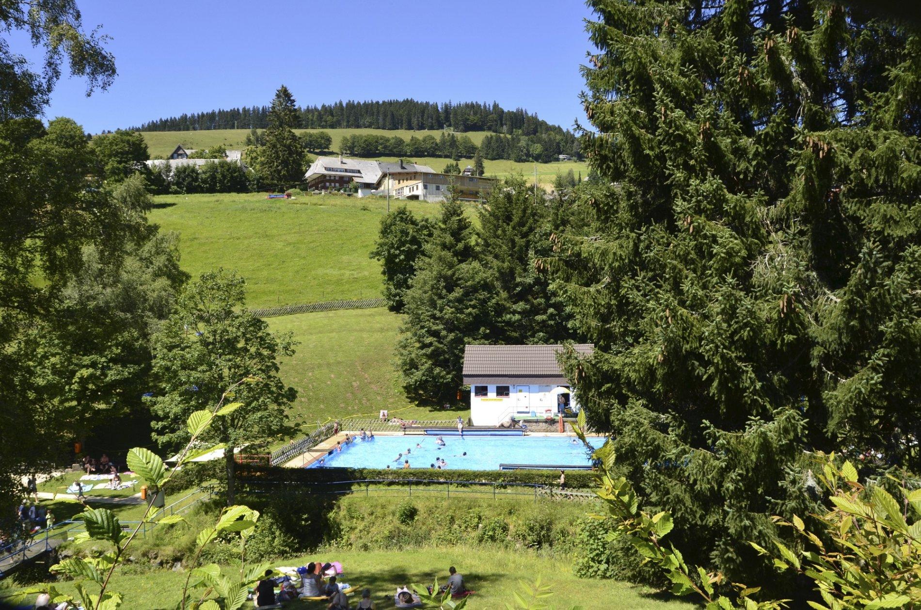 Schwimmbad in Todtnauberg