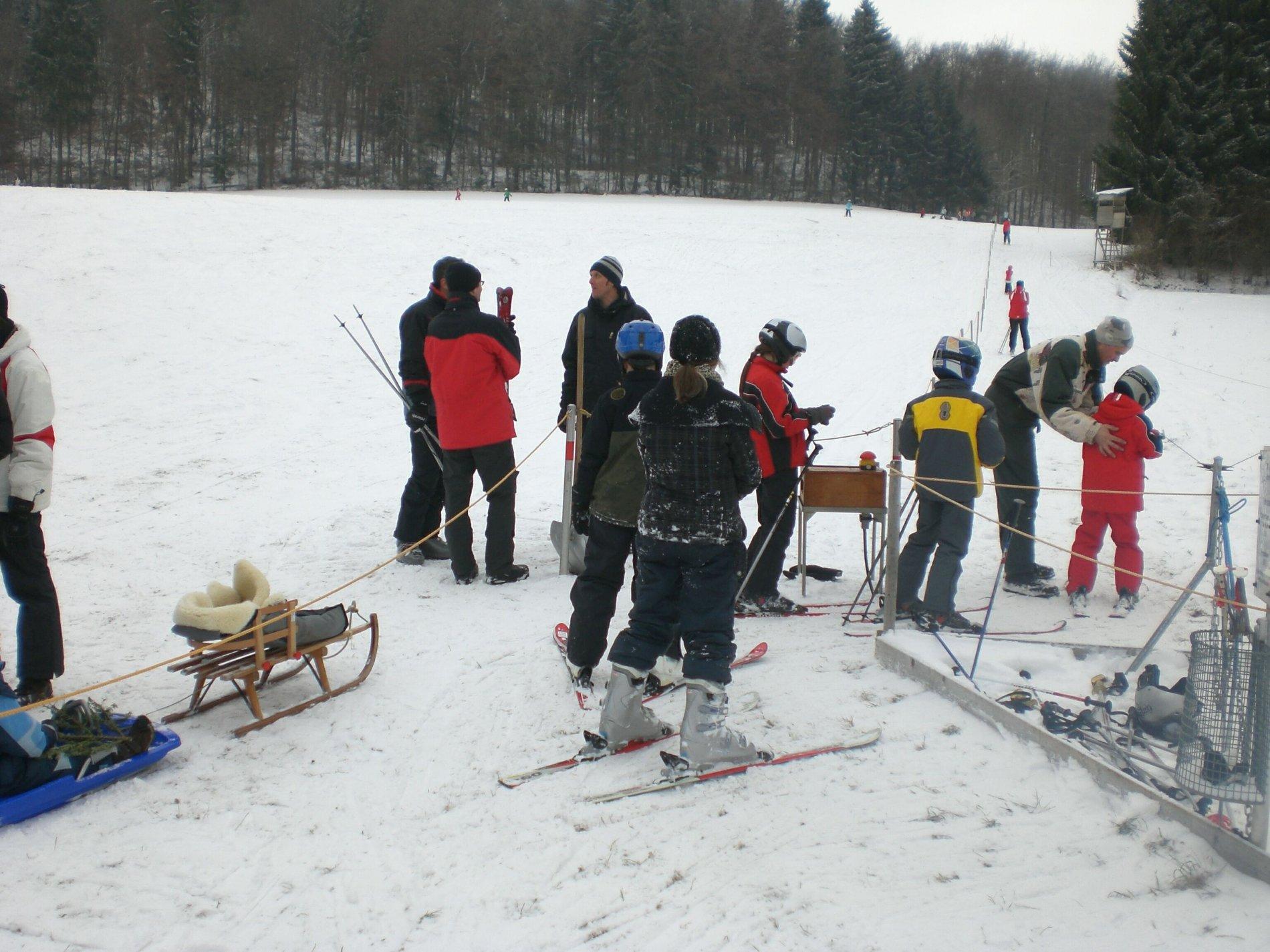 Liftbetrieb Ski-Club Vilsingen
