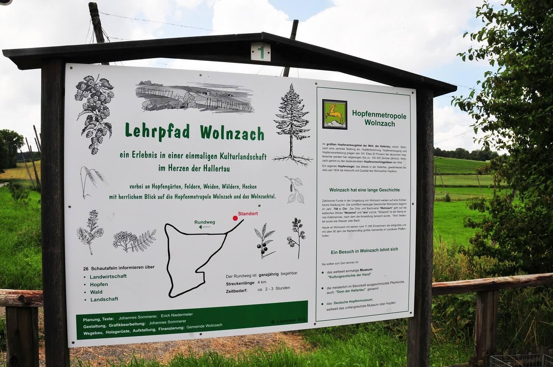 Hallertauer Lehrpfad in Wolnzach