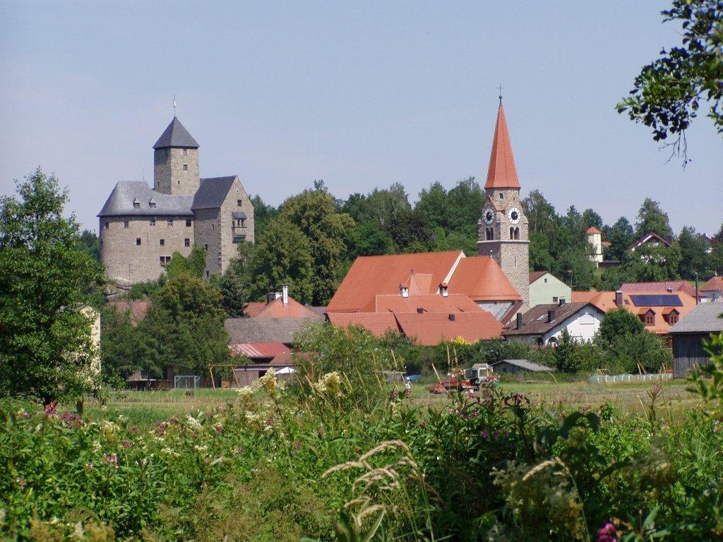 Burg und Markt Falkenberg