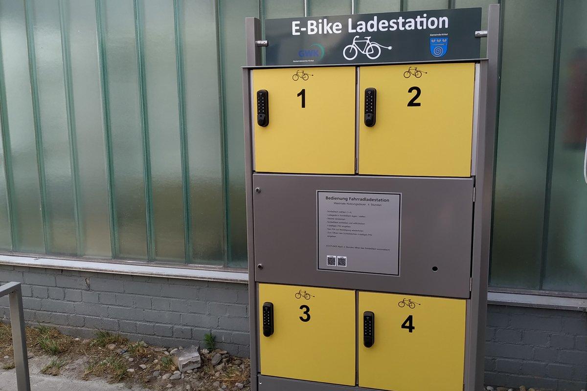 E-Bike Ladestation Hugo Strobel Halle
