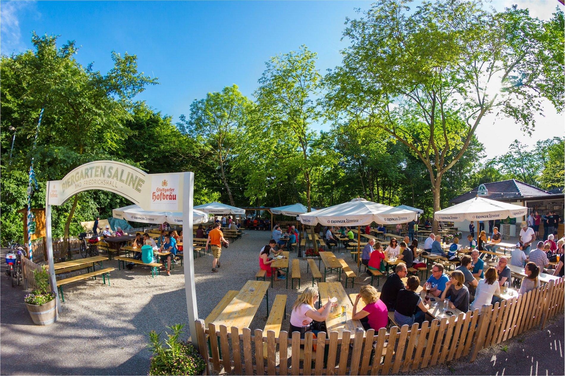 Biergarten Saline   RadServiceStation   Bad Friedrichshall im HeilbronnerLand