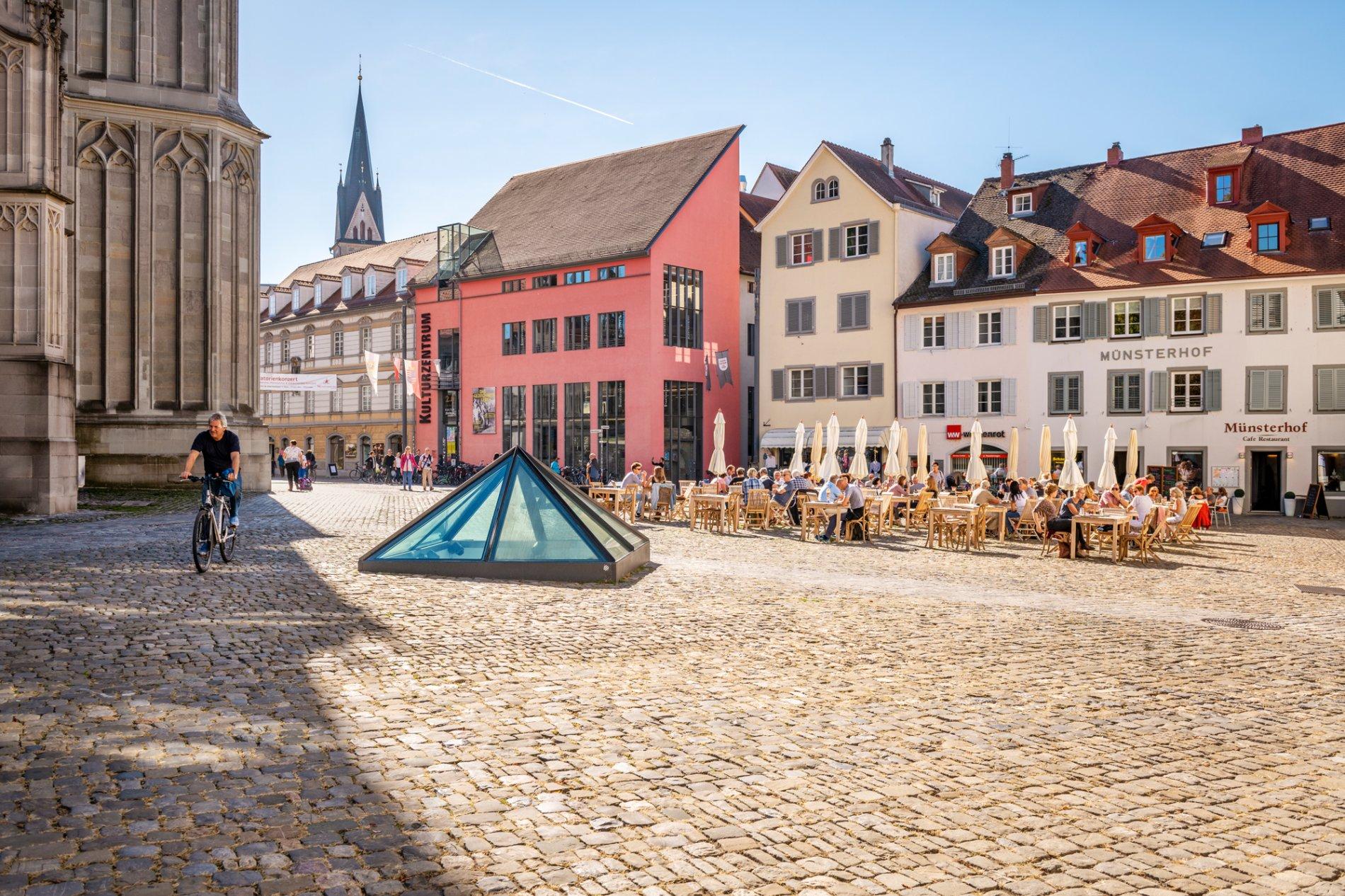 Zentral und vielfältig: Das Kulturzentrum am Münsterplatz