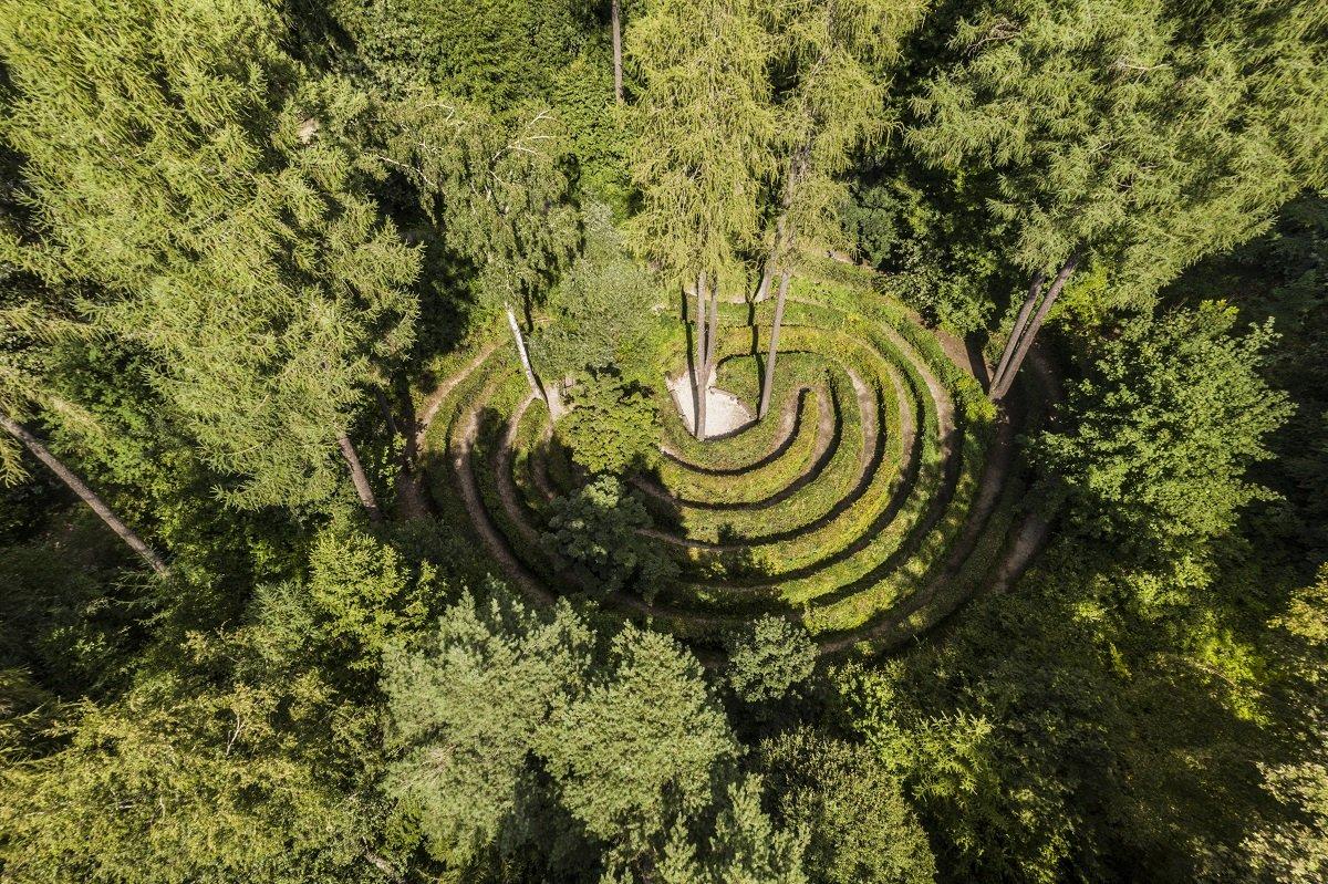 Waldspielplatz auf dem Walderlebnispfad Freising