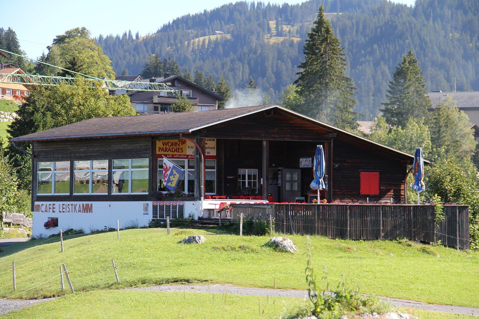 Bergrestaurant mit Sonnenterasse