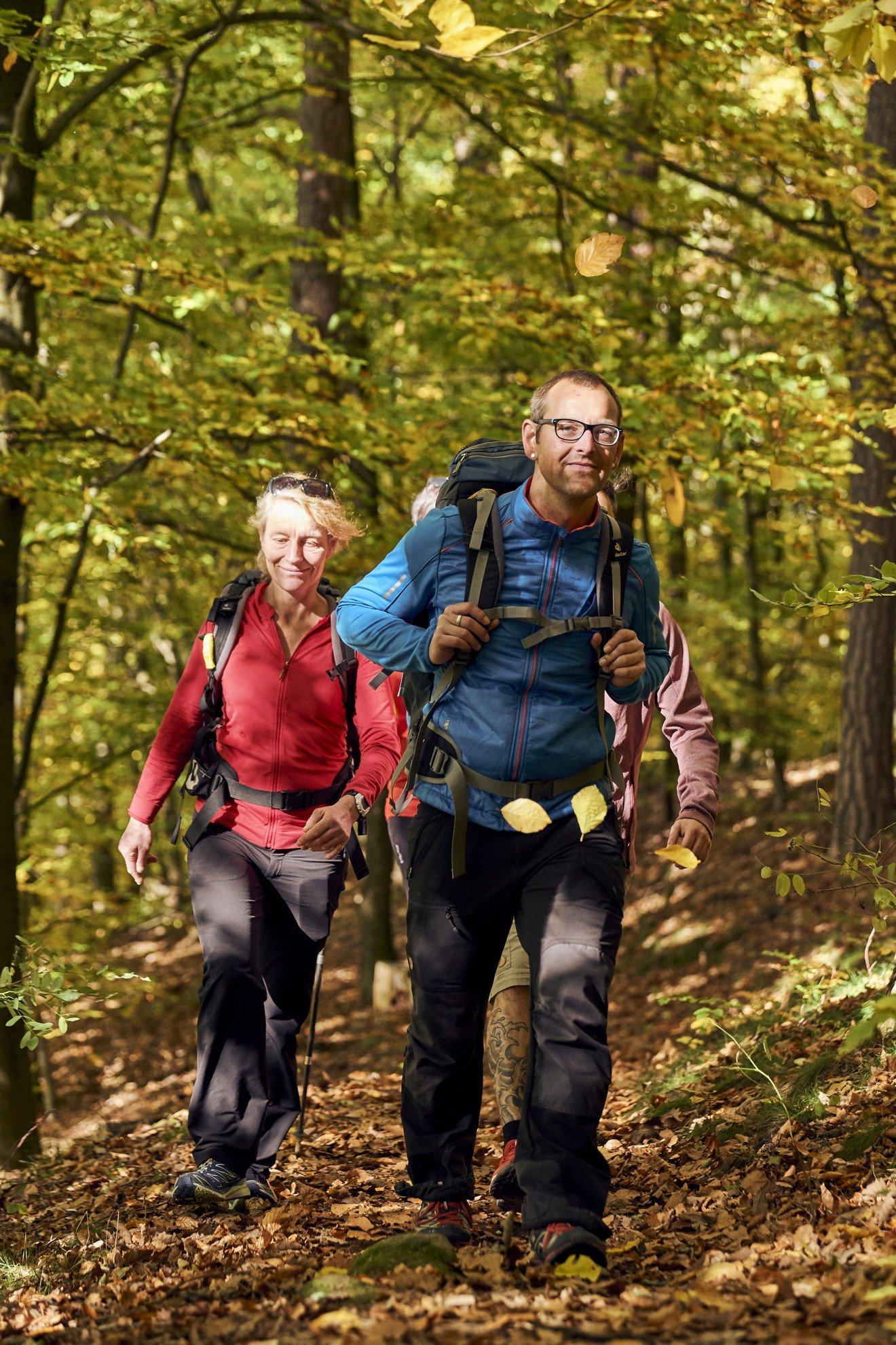 Herbstliches Wandervergnügen im Frankenwald