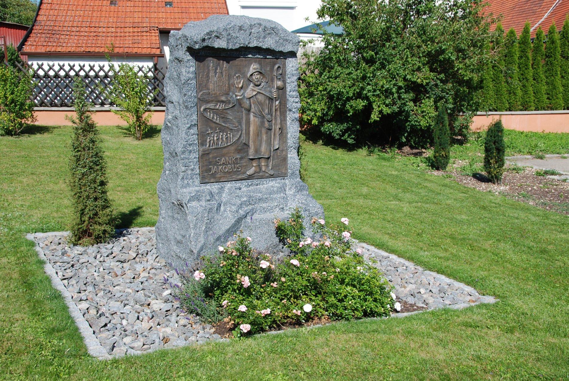 Relief / Denkmalstein des St. Jakobus