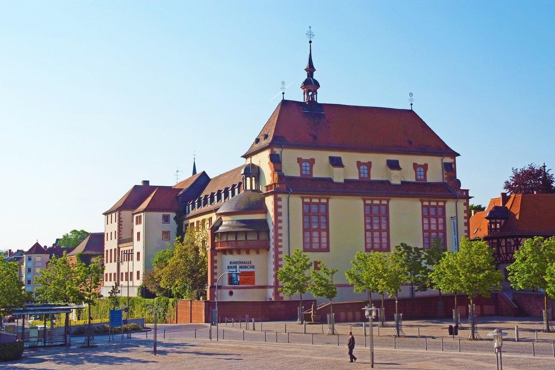 Aschaffenburg - Kunsthalle Jesuitenkirche