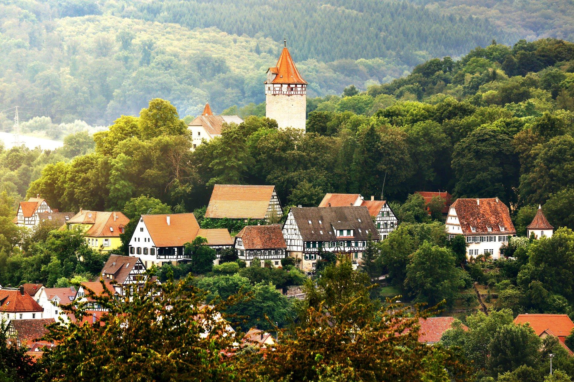 Blick auf Möckmühl | HeilbronnerLand