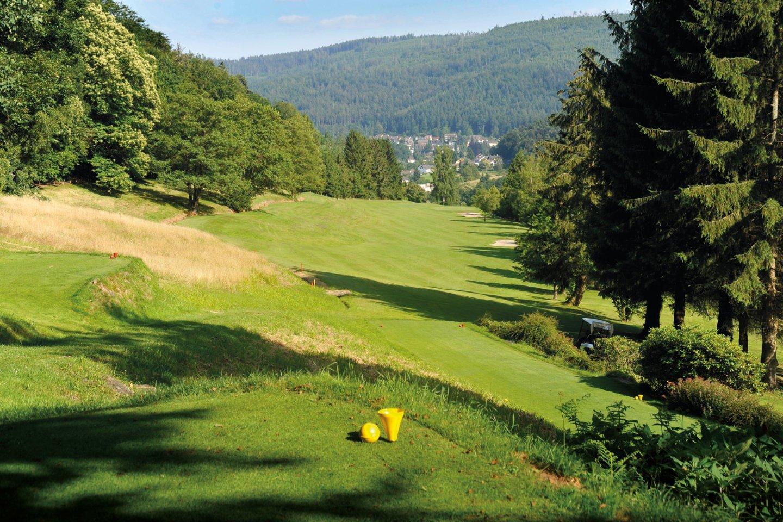 Golfplatz inmitten traumhafter Natur