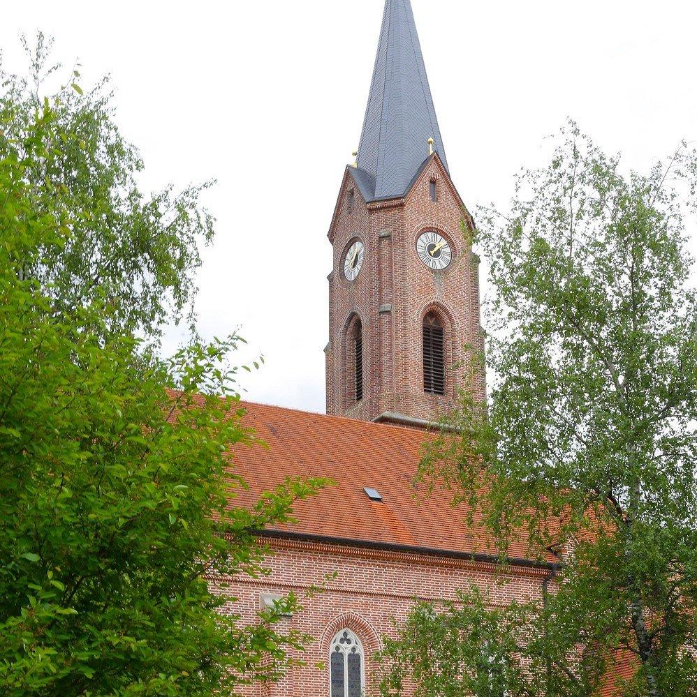 Außenansicht der Kirche St. Vitus in Gammelsdorf