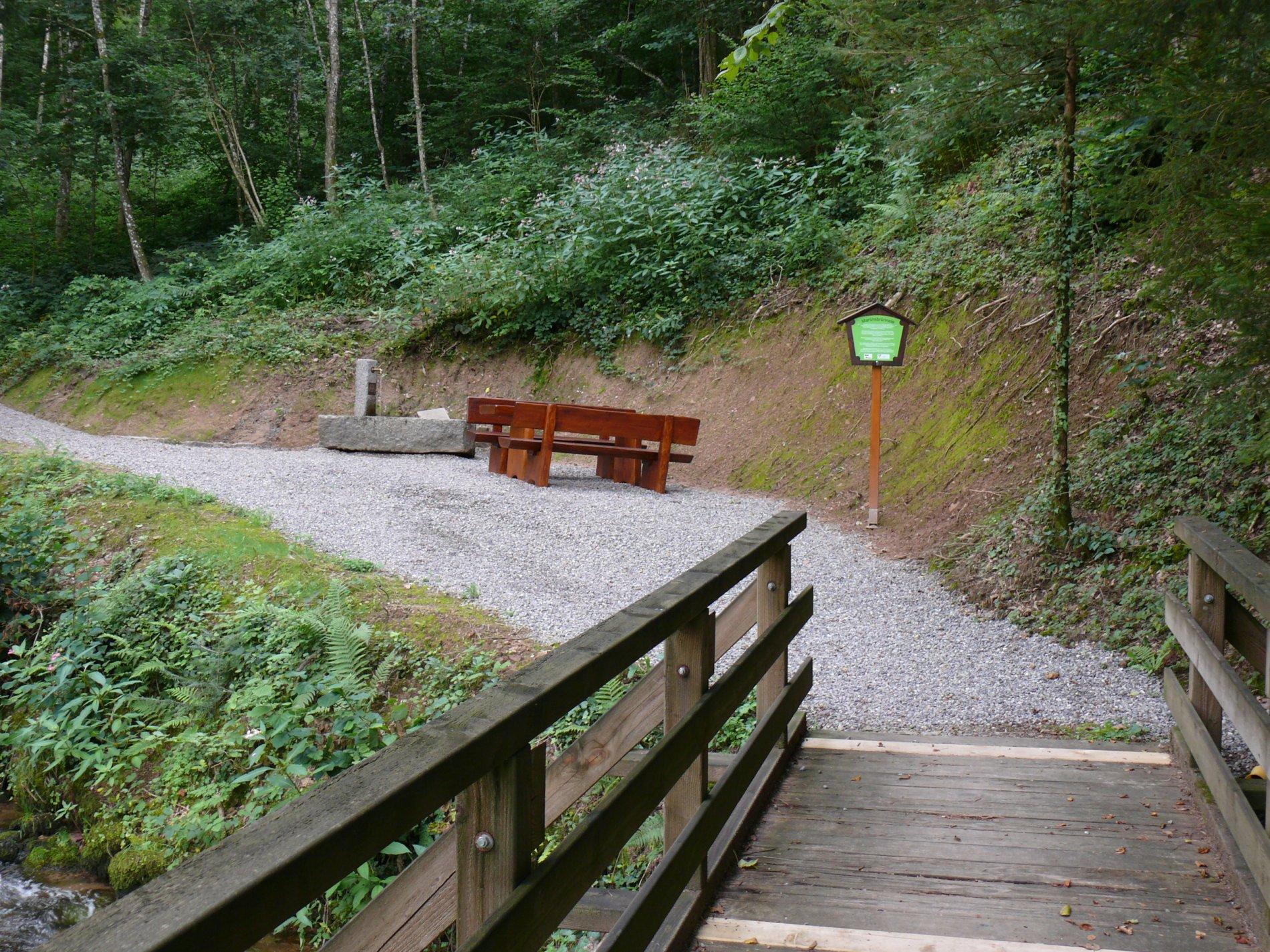 Martinsbruennele am Bollenhut-Talwegle