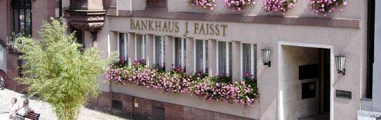 Bankhaus J Faisst Aussenansicht