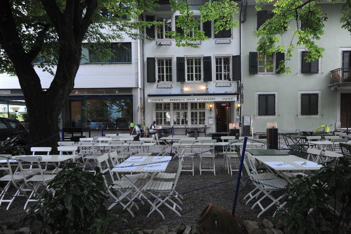 Akropolis Greek Restaurant exterior Solothurn